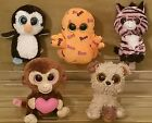 TY BEANIE BABIES BOO LOT OF 5 PLUSH 6