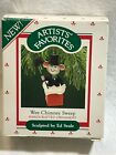 1987 Hallmark Artists' Favorites Wee Chimney Sweep Christmas Tree Ornament