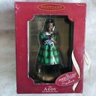 American Girl 1864 Addy Green Dress Doll Hallmark 2002 Keepsake Ornament w/ Box