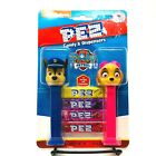 PEZ Candy Paw Patrol Dispensers and Candy Refill Set Chase and Skye Dispensers