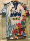 Vintage 1997 Team Mapei world Champion Cycling jersey colnago Size L