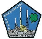 STARLINK FLIGHT 3 V10 L2 45 SW LAUNCH BASE MISSION PATCH CONNECT NORTH AMERICA