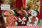 TY BEANIE BABY TASTY + YUMMY + GOODY THE CHRISTMAS BEARS-6
