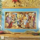Bucilla Nativity Christmas Cross Stitch Kit Nancy Rossi Jesus Mary New Sealed
