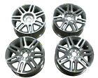 Set of 03 05 LINCOLN LS 17 Wheels Factory Rims 7 Spokes Machined Aluminum OEM