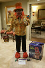 UNCLE CHARLIE EVIL CLOWN STATIC PROP NOT ANIMATED  6 FT TALL SPIRIT GEMMY MORRIS
