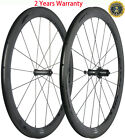 50mm Carbon Bicycle Wheels Road Bike Carbon Clincher Wheelset 700C Race R7 Hub