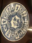 Chinese Blue White Porcelain DishKangxi Period