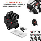 Black Motorcycle Bike Extension Folding Tyre Anti theft Lock High Security Level