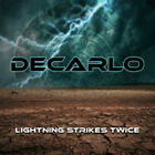 LIGHTNING STRIKES TWICE  by DECARLO  Compact Disc  FRCD1007