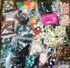 18 POUNDS OF BEADS JEWELRY MAKING SUPPLIES CRAFTS PLASTIC WOOD METAL GLASS SHELL