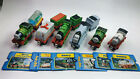 6 Train sets w/ Collectors Cards Thomas&Friends Take-n-Play Along Trains Diecast