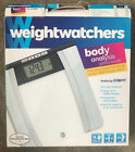 Weight Watchers by Conair Glass Body Analysis Scale  New open box