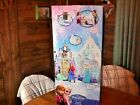 NEW TOY IN BOX DISNEY FROZEN 2 in 1 ELSA & ANNA CASTLE & ICE PALACE 10 Pc & OLAF