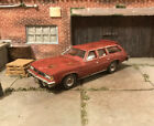 1976 Pontiac LeMans Wagon Custom Weathered Rusty Barn Find 1/64 Diecast Car