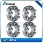 4Pc 15 5x55 to 5x5 1 2 Studs Wheel Spacers Adapter fits Dodge D150