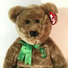 Billionaire Bear TY Beanie Baby Employee Exclusive Thank you 2002 with Hang Tag