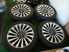 LINCOLN NAVIGATOR OEM FACTORY 22 WHEELS RIMS 285 45 22 TIRES ONLY 63 MILE