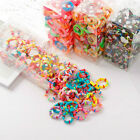 100 pcs lot Kids Hair Rope Scrunchy Elastic Girls Rubber Band Gum for Hair Ties