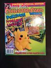 Mary Beth's Collector Card World-1st Issue-3-D Beanie Card Attached-Pokemon