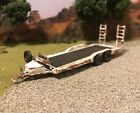 Car Or Equipment Trailer For Truck Rusty Weathered 1/64 Diecast Hauler Barn Find