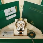 Brand New 2019 ROLEX COSMOGRAPH DAYTONA 116503 Oystersteel and gold stainless
