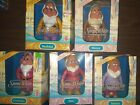 mattel snow white and then seven dwarfs color changing toys lot of 5
