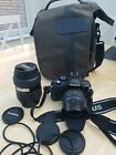 Used OLYMPUS E-420 - KIT with 14-42mm and 40-150mm telephoto lenses