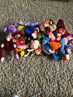 16 Vintage Ty Teanie Beanie Babies Lot With Tags