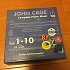 Used JOHN CAGE Complete Piano Music BOXLimited Good condition Genuine Japan