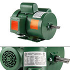 15 HP Single Phase Farm Duty Electric Motor 56H Frame 1800 RPM TEFC Enclosure