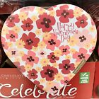 Elmer Valentines Heart Shaped Box Of Chocolate Candy With Small Flowers 16 Oz
