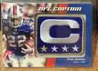 2012 Topps Football NFL Captain Patch Relic Cards Visual Guide 37