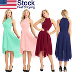 Women's Chiffon Bridesmaid Dresses Formal Evening Party Cocktail Dress Prom Gown