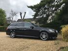 LARGER PHOTOS: Mercedes E220 sport AMG black 2014 or SWAP for VW transporter - vito/viano