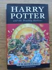 Harry Potter and the Deathly Hallows by J K Rowling HB DJ 2007 First Edition