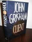 The Client John Grisham Signed 1st Edition Thriller Crime Mystery First Printing
