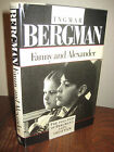 Fanny and Alexander Ingmar Bergman Film 1st Edition First Printing Full Text Oop