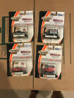 TEXACO 1:64th MATCHBOX COLLECTIBLES SET OF 4 DIECAST TOY CARS AND TRUCKS LOT