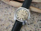 Vintage Certina DS Womens Diver Watch Sea Turtle RUNS Clean New Leather Strap