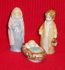 Enesco Kinka Nativity Mary Joseph  Jesus