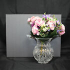 Waterford Mothers Day Vase 1998 4th Edition w Flowers