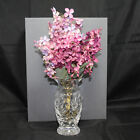 Waterford Mothers Day Vase 2000 6th Edition w Flowers Signed