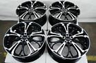 17 Wheels Honda Civic Accord Element Prelude Insight Camry Corolla Black Rims