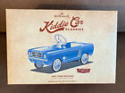 HALLMARK KIDDIE CAR CLASSICS 1965 FORD MUSTANG ~LIMITED EDITION 6000~NEW IN HAND