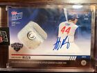 2019 TOPPS NOW ANTHONY RIZZO AUTO GAME USED BASE LLC AUTOGRAPH 49