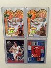 4 Shaun Livingston Rookie Cards Lot RC Press Pass Rookie Scrapbook Clippers