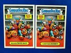 TOPPS 2016 GARBAGE PAIL KIDS THANKSGIVING 5A BLACK FRYE DAY & 5B LAST BOX BOBBY