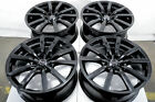 18x8 Honda Civic Si Accord Pilot Mazda MX 5 Miata Impreza Wrx Black Wheels Rims