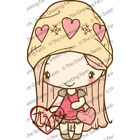 AMOR ANYA-The Greeting Farm Cling Mount Rubber Stamp-Stamping Craft-Beanie-Heart